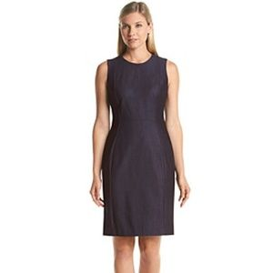 Calvin Klein Denim Sheath Dress Size 10